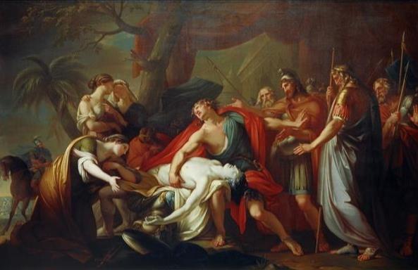 Achilles Lamenting the Death of Patroclus - Gavin Hamilton.jpg